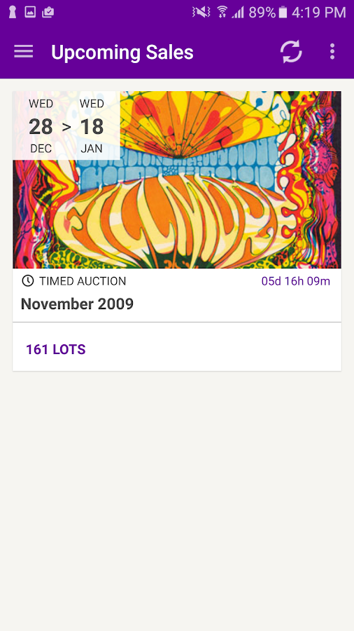 Classic Poster Auctions- screenshot
