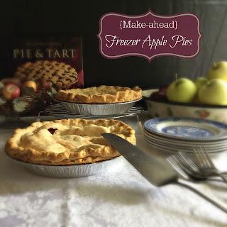 {Make-ahead} Freezer Apple Pies