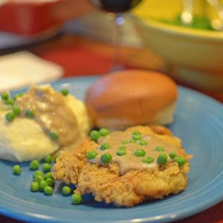 Chicken Fried Steak and Gravy Lone Star-State Style