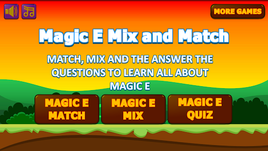Silent / Magic E Mix and Match - Learning to Read - náhled