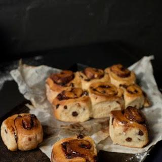 Chocolate Pin Wheel Bread
