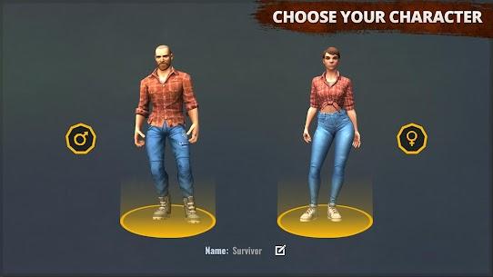 Days After – zombie survival simulator MOD (Free Craft/Mod Menu) 1