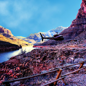 The valley of Grand canyon. by Jeff T - Landscapes Mountains & Hills