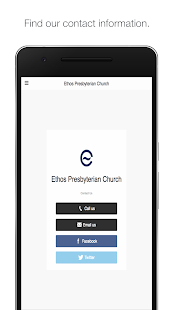 Ethos Presbyterian Church- screenshot thumbnail