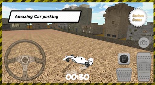 3D賽車城停車場