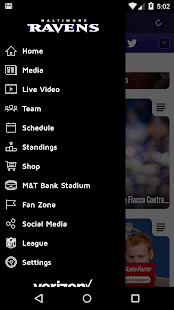 Baltimore Ravens Mobile- screenshot thumbnail