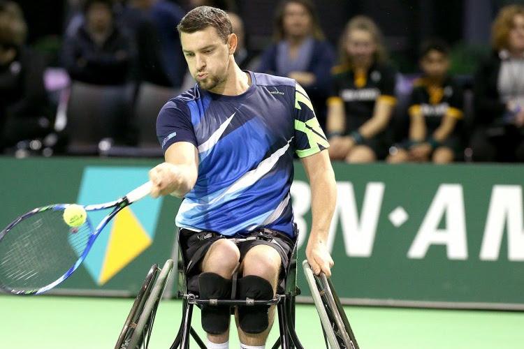 Joachim Gérard moet toestaan dat opponent revanche neemt en haalt finale in Rotterdam niet