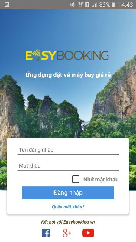 Easybooking- screenshot