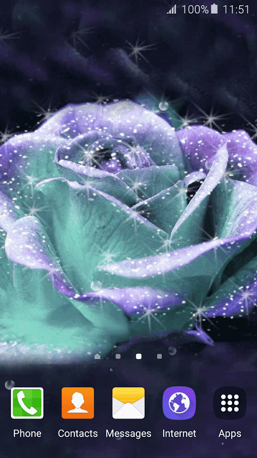 3D Rose Live Wallpaper- screenshot
