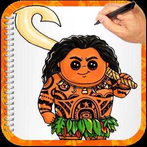 How To Draw Maui Moana for PC