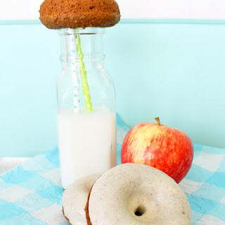 Apple Bran Donuts with Brown Butter Glaze