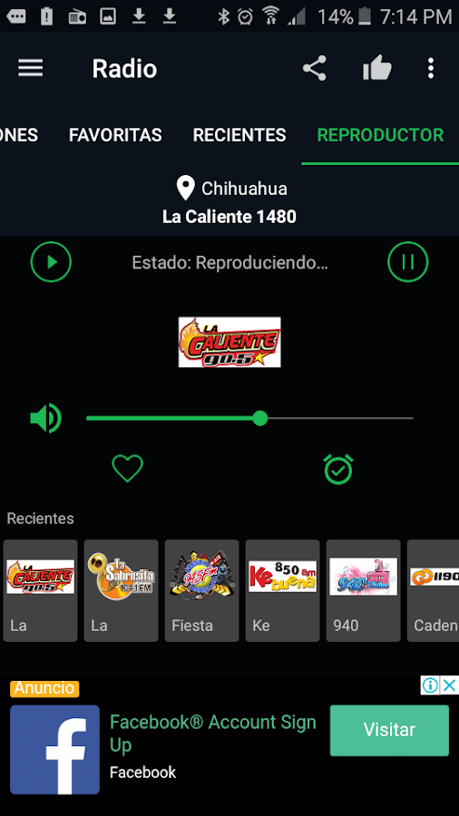 Free Radio FM - Radio Alarm Clock- screenshot