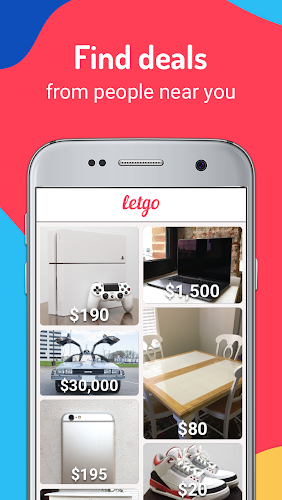 letgo: Buy & Sell Used Stuff, Cars & Real Estate Android App Screenshot