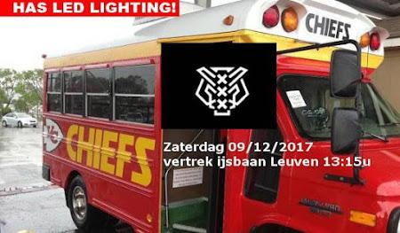 Amsterdam Tigers - Chiefs Leuven: zaterdag 09/12/2017