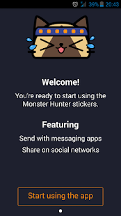 Monster Hunter™ Sticker App- screenshot thumbnail
