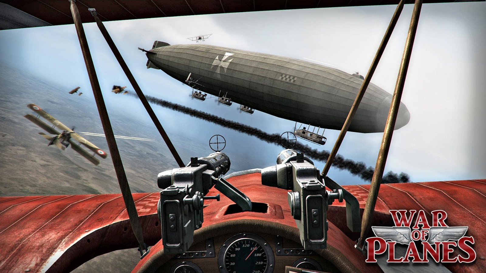 red baron plane games