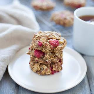 Lemon Raspberry Breakfast Cookies.
