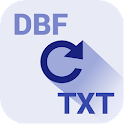 Convert DBF to TXT icon