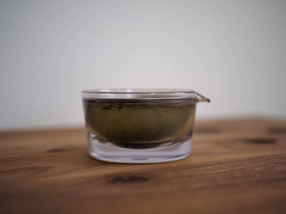 1分茶葉を蒸らす