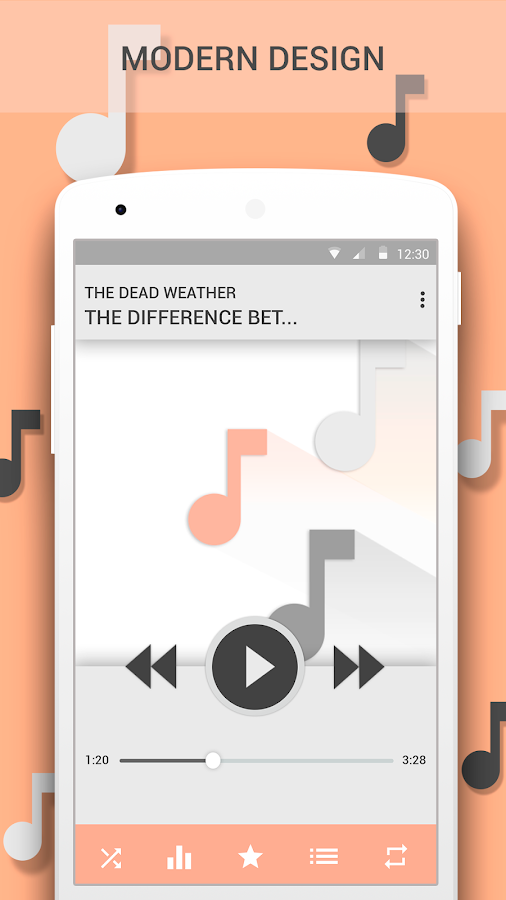 Vortex Music Player- screenshot