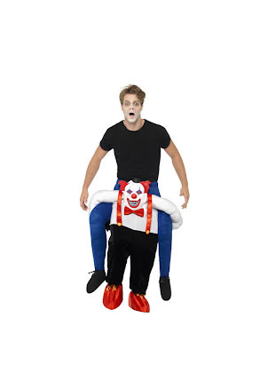 Piggyback, clown