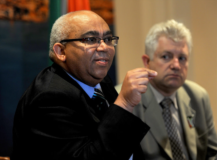 Western Cape community safety MEC Albert Fritz.