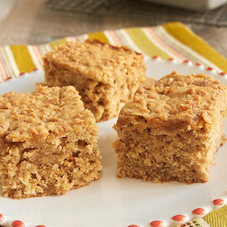 Peanut Butter Toffee Snack Cake
