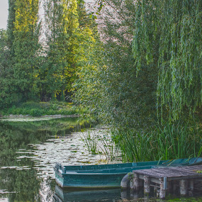 Tranquility by Peter Louer - Landscapes Waterscapes ( waterscape, france, tranquility, landscape, river )