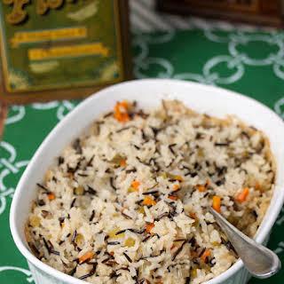 Wild Rice Pilaf.