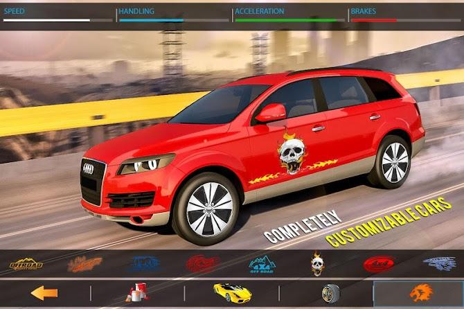 ?️ Traffic Car Highway Rush Racing Android 8