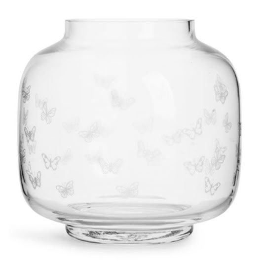 Sagaform Glasbruk Butterfly Vas