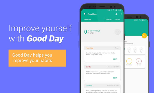 Good Day – Smart Tool for Self Improvement - náhled