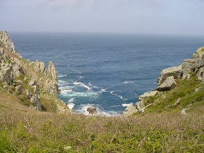 Photo: We are now at the western edge of the peninsula, at the Pointe du Van.