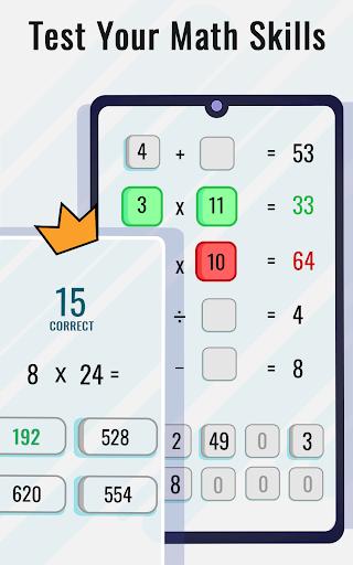Math Puzzles game - Brain Training Math Games 🧠 screenshot 9