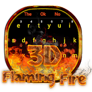 App 3D Red Flaming Fire Keyboard APK for Windows Phone