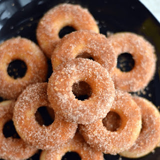 Mini Churros Donuts ( Gluten-free+Vegan).