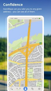 AutoMapa - GPS navigation, CB Radio, radars Screenshot