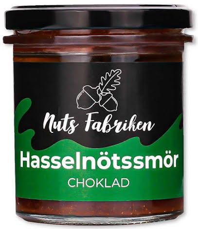 Hasselnötssmör med choklad - Nutsfabriken