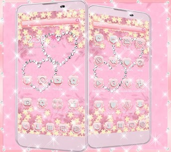 Theme Rose Gold Diamond 10