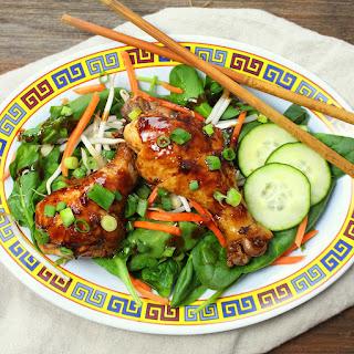 Japanese Soy-Balsamic Braised Chicken.