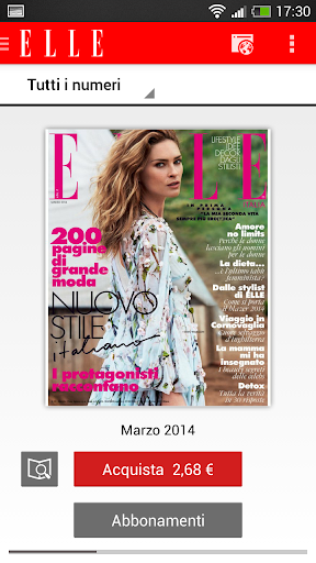 Elle Italy screenshot 1