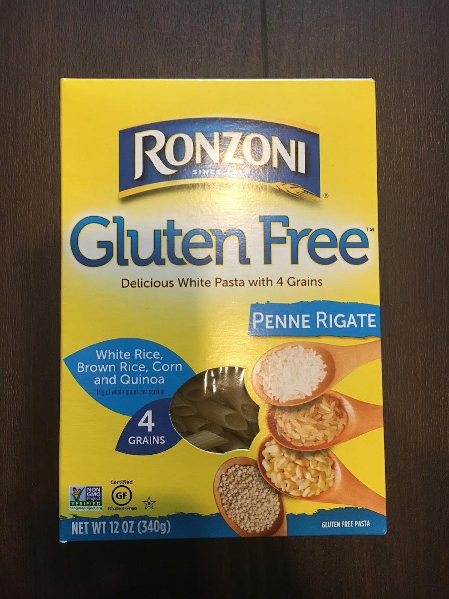 Gluten Free, Penne Rigate, Gluten Free Pasta