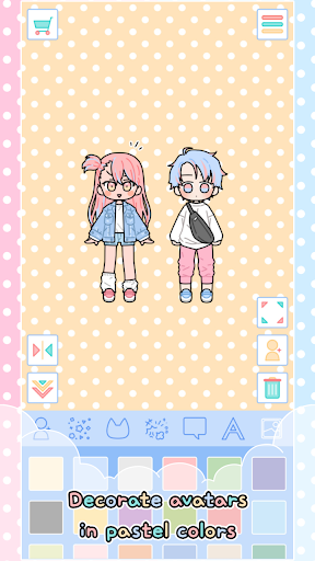 Pastel Friends : Dress Up Game screenshots apkspray 2