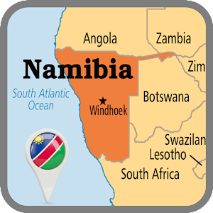 Namibia Map Android Apps On Google Play - Namibia map