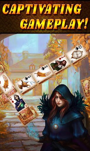 Shadow Kingdom Solitaire. Adventure of princess filehippodl screenshot 1
