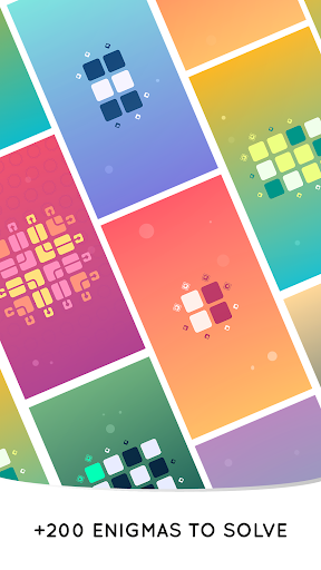Zen Squares - Minimalist Puzzle Game screenshots 19