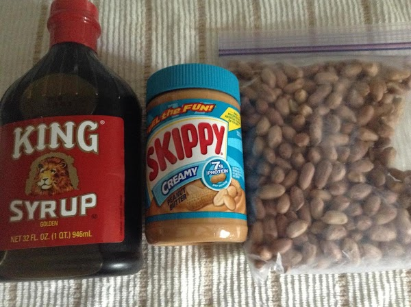 Hint: With great results I have added crushed peanuts to creamy peanut butter plus...