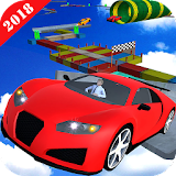 Impossible Car Track Stunt Racing 3D