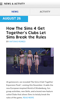 The Sims™ 4 Gallery