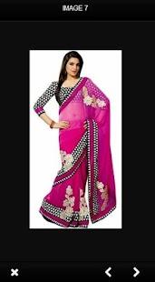 Saree India Shirt Model - náhled